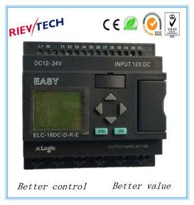 インテリジェント制御(プログラム可能なリレーELC-18DC-D-R-E)のプログラム可能な論理のコントローラPLCのための工場価格