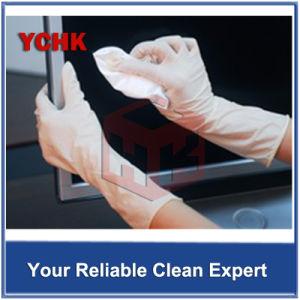 De dubbel Gebreide Cleanroom van de Polyester LCD van Wissers Schoonmakende Doek van het Scherm