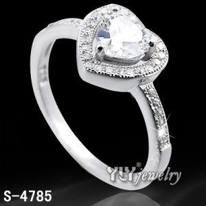 Love Ring (S-4785)方法925純銀製の女性の