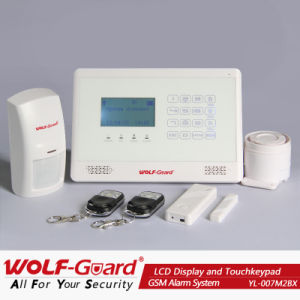 LCD表示およびTouch Keypadとの新しいGSM Smart Burglar Alarm System