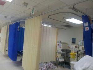 100% Non-Woven descartáveis hospitalares as cortinas do Compartimento