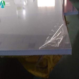 Feuille de plastique transparent rigide en PVC avec Pealable PE Film protecteur pour boîte de pliage