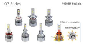 超白い6000K 9-36VのFord Explorer車LEDのヘッド電球H7