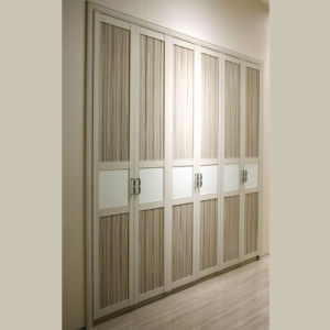 Wardrobe articulado de madeira simples de Oppein com 6 portas (YG11239)