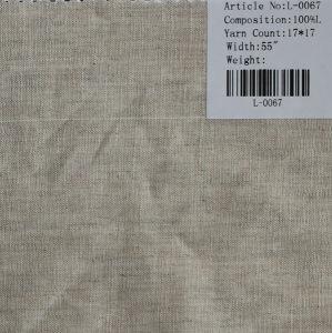 The Pure Linen Tissu L-0067