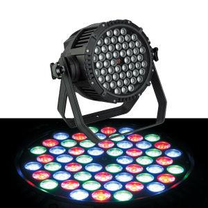 la IGUALDAD impermeable de 54X3w RGB 3in1 LED puede encenderse