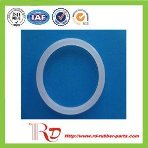 Prático e durável o anel de borracha de Silicone Transparente