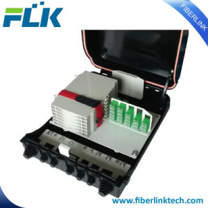 24 ядра сети FTTH крытый и открытый PLC разветвитель распределительной коробки оптоволоконный