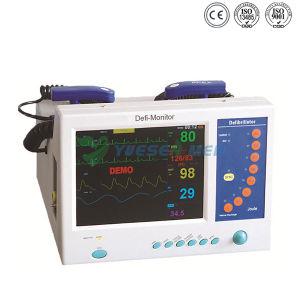Automatiseerde Draagbaar TweefasenAED van het ziekenhuis Externe Hart Defibrillator