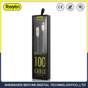 cavo di carico del metallo di 1m della molla del USB 2.0 del cavo di micro dati durevoli del USB per il telefono mobile