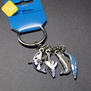 Los fabricantes de China de esmalte personalizados Llavero de metal Logo Teléfono