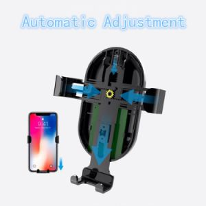 2018 World Cup Ци Wireless зарядное устройство быстрой зарядки автомобиля держатель станции/Mount смарт-телефон (W9)