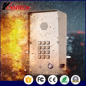 IP телефон внутренней связи в антивандальном исполнении из нержавеющей стали внутренней безопасности и управления доступом