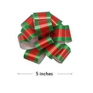 ギフト包むクリスマスのギフトのためのアクセサリの引きの弓、弓、バスケット、ワイン・ボトルの装飾