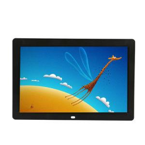 alimentation électrique Poe 12 pouces HD LCD monté sur un mur de la publicité Média Player Android