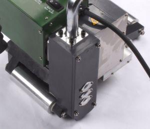 Soldadura plástica Cuña caliente Máquina de soldadura utilizada en la soldadura geomembrana