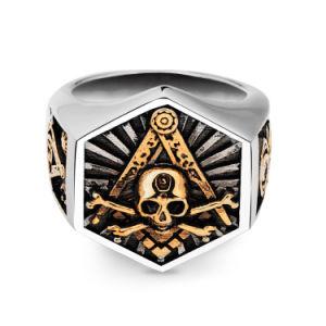 方法宝石類のパンクの人のステンレス鋼のリングの宝石類