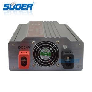 Suoer la corrección de alta frecuencia de 24V de onda de 4000W DC a AC Inversor de Energía Solar (STA-4000B)
