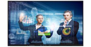 상점을%s 3G 디지털 Signage 메뉴 대화식 지능적인 널을 광고하는 70 인치