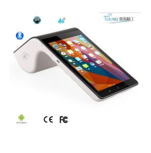 PT7003 androide Position Termial mit WiFi 4G Griffs-Thermodrucker-und Barcode-Scanner-Kamera