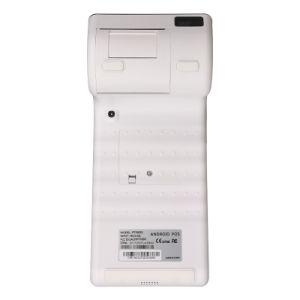 Pantalla táctil de 2 Android POS magnético NFC dispositivo lector de tarjetas con chip EMV 4G WiFi impresora térmica PT7003 Bluetooth