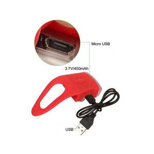 GB22 mini indicatore luminoso della coda della bicicletta del USB Rechargeble della PANNOCCHIA LED