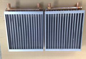 銅の熱交換器を乾燥する水
