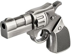 Специальной полиции револьвер пистолет флэш-накопитель USB в форме диска памяти
