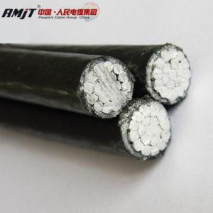 Cavo elettrico Quadruplex di ABC dell'alluminio di potere isolato XLPE di goccia di servizio