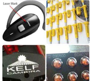 macchina acquaforte del Engraver dell'indicatore del laser della fibra di 20W 30W per metallo