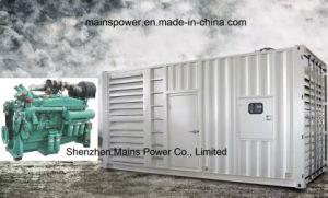 Mc700d5 Cummins schalldichter Generator der Dieselgenerator-Reservebewertungs-700kVA Vta28-G5