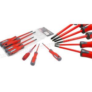 7 PCS com chave de fenda magnética e Bits de Phillips Eletricistas trabalho elétrico do Kit de ferramentas de reparo de Fendas Definido