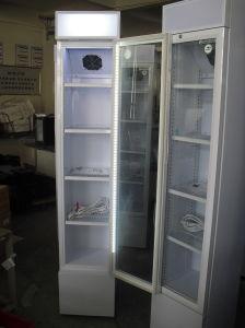 105L nehmen Kühlraum-aufrechter Bildschirmanzeige-Getränkekühlvorrichtung-Kühlraum-kalten Schaukasten mit Glastür-Kühlraum ab