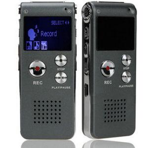 8g ЖК-Аккумулятор динамиком для воспроизведения стерео диктофон USB