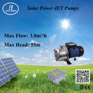 750W 태양 에너지 제트기 펌프, 무브러시 DC 펌프, 관개 펌프