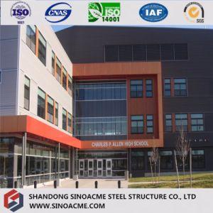 Paneles sándwich PU modulares prefabricadas decoradas Edificio de estructura de acero
