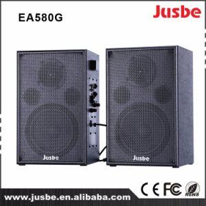 Jusbe Ea580g 60のスピーカーワット4のオーム2.0の能動態のbluetoothのスピーカーの健全なボックス木箱のスタジオの
