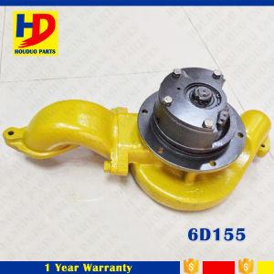 6D155 de diesel Pomp van het Water met het Gieten de Technologie van de Productie