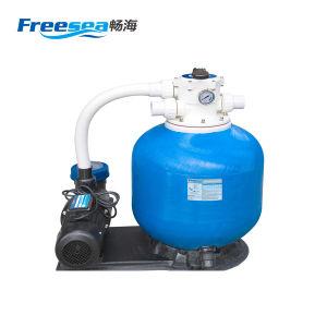 Alta Eficiencia Precio de fibra de vidrio filtro de la piscina con filtro de arena