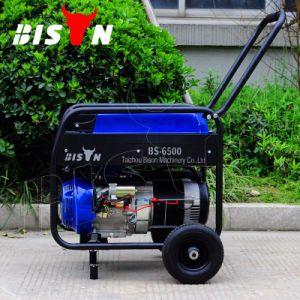 Bison (China) precio de fábrica BS5500 4Kw de 4000W 4kVA monofásicos de CA Cable de cobre de 13HP Portátil Generador enfriado por aire gasolina