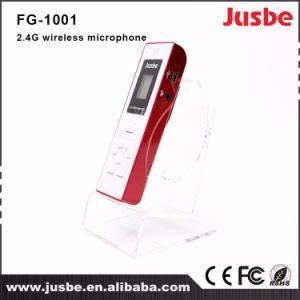 サウンド・システムFg-1002 2.4Gの専門の携帯用無線コンデンサマイクロホン
