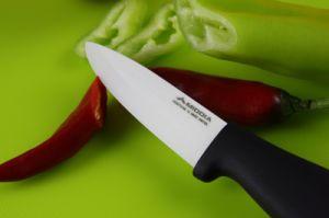3インチの抗菌性の台所フルーツの皮をむくナイフ