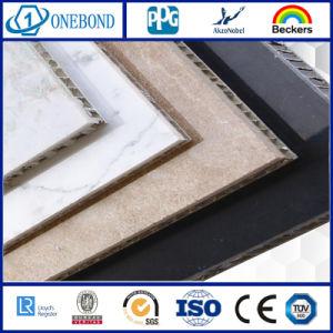 Panneau d'Honeycomb en granit avec panneau de mur extérieur