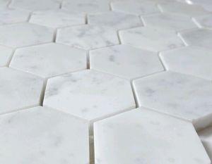 Wit Marmeren Mozaïek/het Italiaanse Marmeren Mozaïek van Bianco Carrara