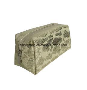Modèle de serpent imitation cuir de luxe PU Fashion Mesdames cas cosmétiques&Sacs, sacs à maquillage&cas couleur Golod