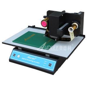 최신 판매 Audley 디지털 최신 포일 로고 인쇄 기계
