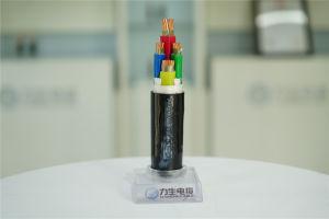 0.6/1kv Draad van de Kabel van de Macht van de laag-Rook van de straling de XLPE Geïsoleerdel Polyolefin In de schede gestoken halogeen-Vrije Flame-Retardant Vuurvaste