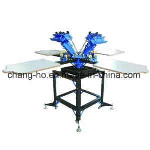 Manueller Shirt-Bildschirm-Drucken-Tisch
