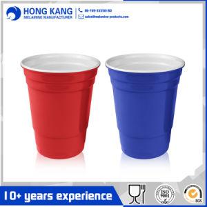 Arbeitsweg-Melamin-Wasser-Cup des sicheren einfachen Drucken-10oz trinkendes