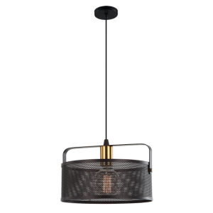 型5ヘッド鉄のペンダント灯